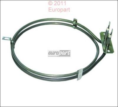 Heizelement Heißluft 1500W 230V Backofenheizung für die Heißluft Rechteckform,